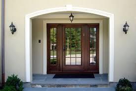 front door with sidelitesAwesome Entry Door With Sidelights Glass Entry Door With