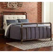 Black Wood Queen Bed Frame King Size Wrought Iron Bed Frame ...