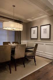 wainscoting dining room. Beautiful Wall Trim Moulding - Wainscoting With Grasscloth Dining Room My Michael Abrams