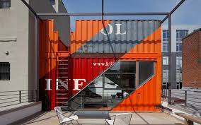 shipping container home labor. A Look Inside Brooklyn\u0027s New Rooftop Shipping Container Penthouse Home Labor