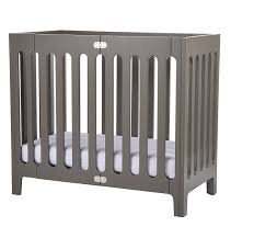 amazoncom  bloom alma mini urban mini folding crib frame frost