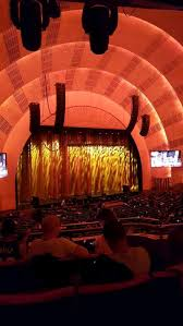 Radio City Music Hall Virtual Seating Chart Radio City Music Hall Section 1st Mezzanine 7 Row D Seat