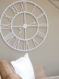 Oversized White Wall Clock Magnificent Wooden Walls French And C On  Pinterest Decorating Ideas