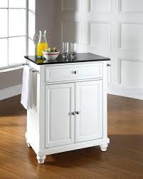portable kitchen island for sale. Kitchen Island Cart Granite Top Fish S Crosley Portable In White For Sale E