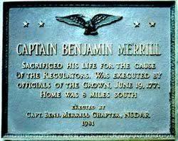 Benjamin Merrill (1731 - 1771) - Genealogy