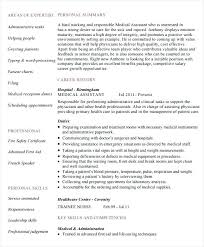 Physician Assistant Resume Examples Custom Medical Assistant Resume Sample Template For Administrative