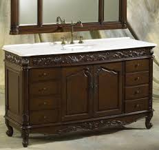 the benefit of using cherry wood for bathroom vanity distressed bathroom design with dark brown