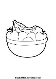 Small Picture Fruit Basket Coloring Pages Youtufcom