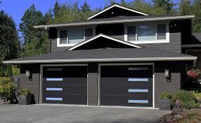 black garage doorNew Modern Tech Garage Doors  Anderson Garage Doors