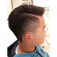ネオ七三カットライン入り Link Hair Designリンクヘアー