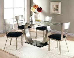 dining room sets for 4 dining table round glass dining room table sets 4 chairs casual