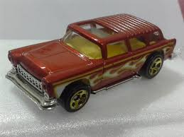 Hot Wheels 55 CHEVY NOMAD RED (end 2/16/2018 12:15 AM)