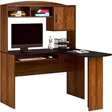 l shaped desk with hutch. Unique Hutch Corner L Shaped Office Desk With Hutch Black And Alder With Hutch Amazoncom