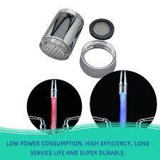 Đầu Vòi Nước Có Đèn Led 7 Màu Không Dùng Pin - Đèn chuyên dụng