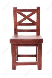 wooden chair front view. Front View Of Antique Wooden Chair Stock Photo - 10313989 O