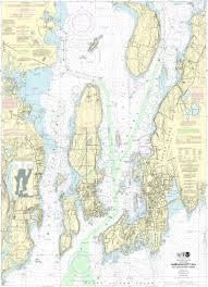 Noaa Chart Books Bluewater Books Charts Noaa 13223 Narragansett Bay