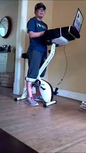 review fitdesk the best exercise bike exercise at your desk you