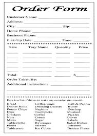 Sample Order Form Template Sample Order Form Template Purchase Sales Sample Order 20