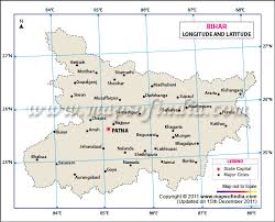 Latitude And Longitude Of Bihar Lat Long Of Bihar