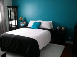 Turquoise Black And White Bedroom Ideas(71)