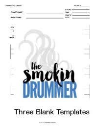 Blank chart Comparison Three Blank Chart Templates Easy Drum Chart Three Blank Chart Template Pdfs song Medley Extended Easy