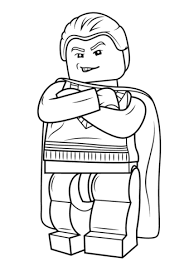 Small Picture Lego Draco Malfoy coloring page Free Printable Coloring Pages