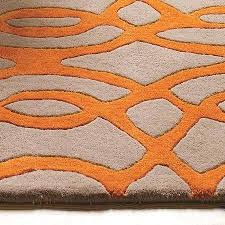 orange and white rug matrix rugs wire orange orange grey white rug orange and white rug target