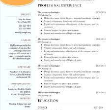Resume Free Examples Free Resume Examples Example Of A Professional ...
