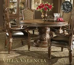 villa valencia round table dining by aico