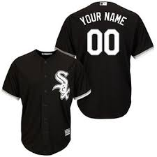 chicago white sox jersey white sox jerseys chicago white sox  men s chicago white sox majestic black alternate cool base custom jersey