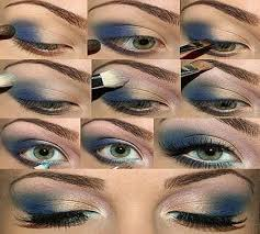 how to apply eye makeup step by step