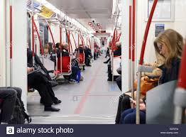people inside subway train. Delighful Subway People Riding TTC Subway Train In Toronto Canada  Stock Image With Inside Subway Train N
