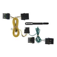 jeep wrangler trailer wiring harness ebay Trailer Hitch And Wiring Harness curt trailer hitch custom wiring harness connector 55356 for jeep wrangler (fits jeep wrangler trailer hitch wiring harness adapter