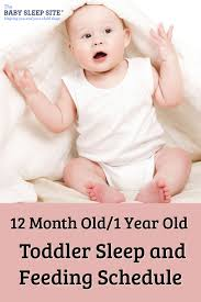 12 Month Old 1 Year Old Sleep Schedule The Baby Sleep Site