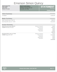 Invoice Statement Example Invoice And Statement Templates Houdiniesq 2 0 Support