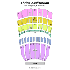 La Shrine Auditorium Seating Chart Tickets Galantis Los Angeles Ca At Ticketmaster
