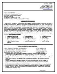Gallery Of Resumes4u Samples Federal Resume Examples Examples Of