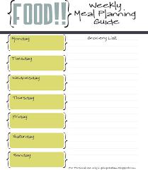 Best 25 Meal Planning Chart Ideas On Pinterest Thanksgiving