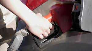 Close Up Hand Filling Gas Up At Petro Canada Gas Station With 4k Resolution