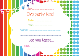 Free Online Birthday Invitations To Email Free Online Invitation Cards For Birthday Party Electronic