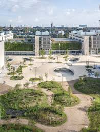 The Formation Urban Design Landscape Architecture Interiors Structures Cobe Architects Karen Blixens Plads Is An Urban Plaza Of