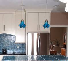 blue pendant lighting. turquoise blue med kitchen island pendant lights by uneek glass fusions via flickr lighting