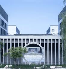 architecture building design.  Building Hall Of Literature U0026 Garden At Taizhou High School  Architect In Architecture Building Design