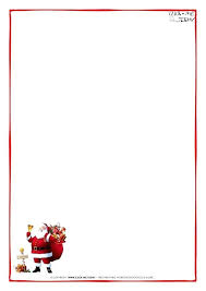 Christmas Letterhead Template Christmas Stationery Printable Free Word Download Them Or Print