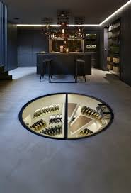 Wine Cellar In Kitchen Floor Any Connoisseurs Dream Modern Wine Cellar Designs