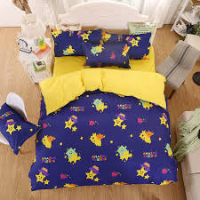 good quality sheets. Unique Sheets UNIKEA Home Bedding Sets Childrenu0027s Yellow Bed Monster Summer Good Quality  Sheets Quilt Cover Pillowcase King Throughout E
