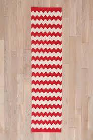 stunning zig zag runner rug and white chevron zigzag runner