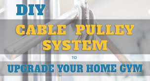easy diy pulley system 3 homemade