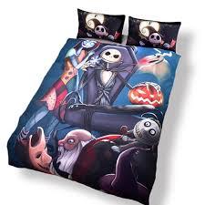 3pcs duvet cover set nightmare before jack skellington 3d bedding sets