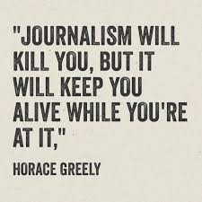 Journalism Quotes Interesting Quotable Greely On Journalism